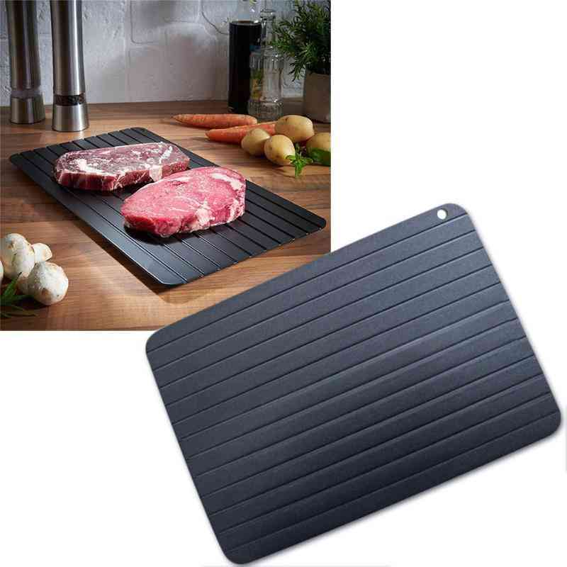 Frozen Meat, Fish, Sea Food - Quick Defrosting Plate Board Tray
