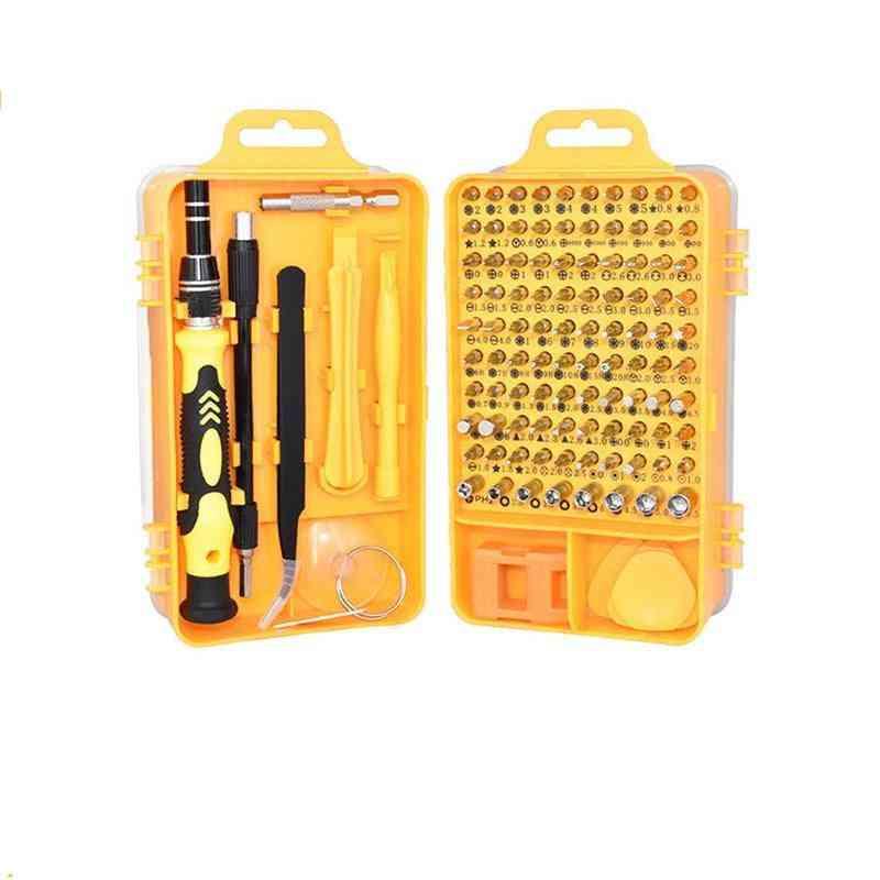 112 In 1 Magnetic Screwdriver Set - Multi Mobile Phone Repair Tool Kit