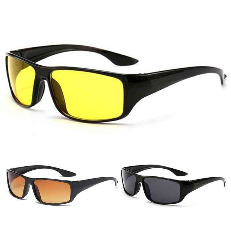 Anti Glare Night Vision Driver Goggles - Enhanced Light & Tired Eyes Reduction From Digital Light