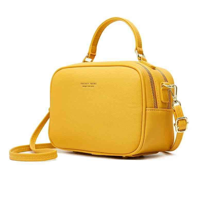 Leather Shoulder Bag - Fashion, Daily Use