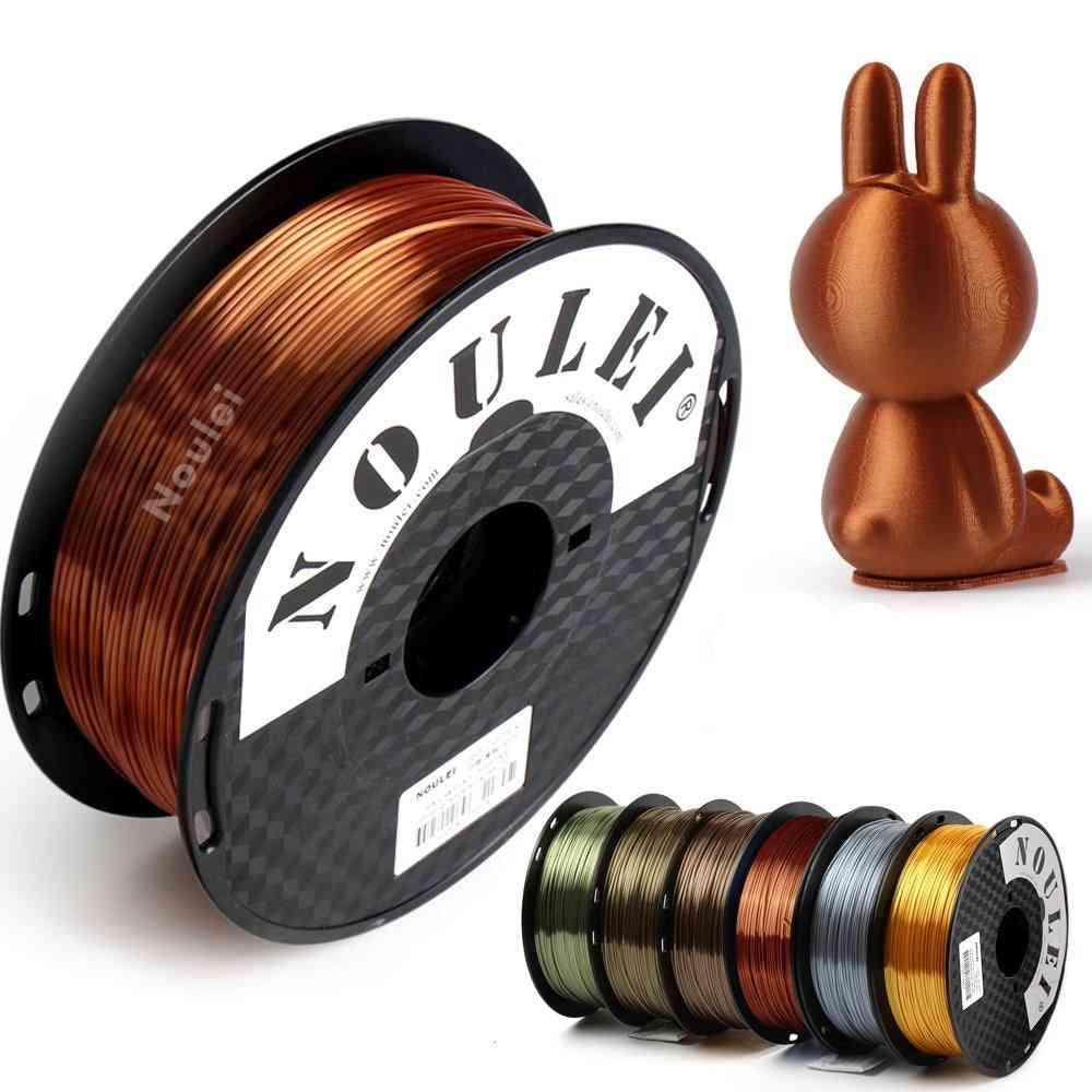 3d Printer Filament Silk 1.75 1kg Pla - Silky Rich Luster Metal - Materials Likes Gold, Copper + More