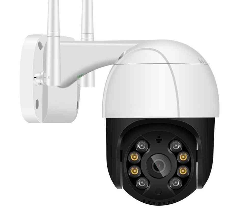 1080p Ptz Wifi Ip - Outdoor 4x Digital Zoom Ai Human Detection Wireless Camera