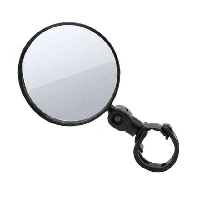 Rear View Handlebar Cycling Mirrors - Silicone Handle For Easy Assembly