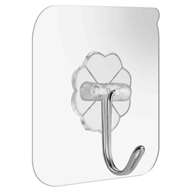 Transparent Strong Suction Hooks For Home Kitchen And Bathroom