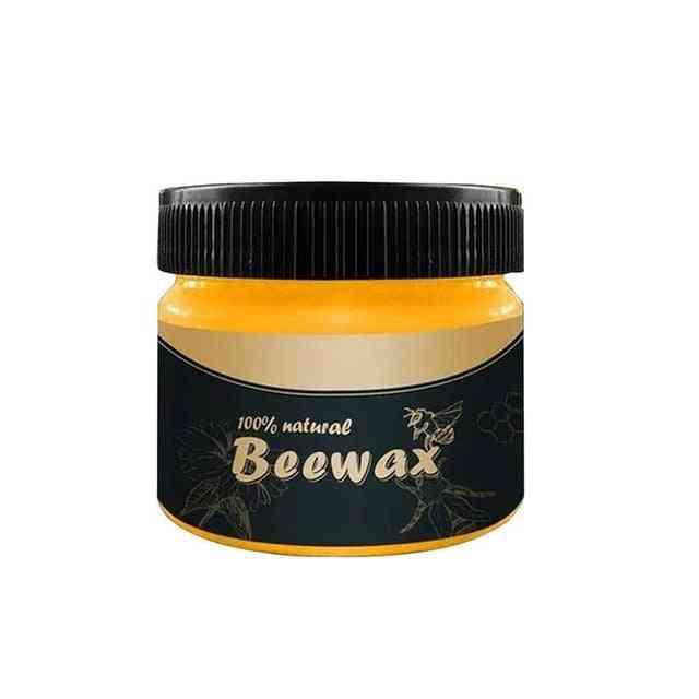 Wood Seasoning Beewax - Waterproof  Wood Care, Solid Wood Maintenance, Polished Wear Wax