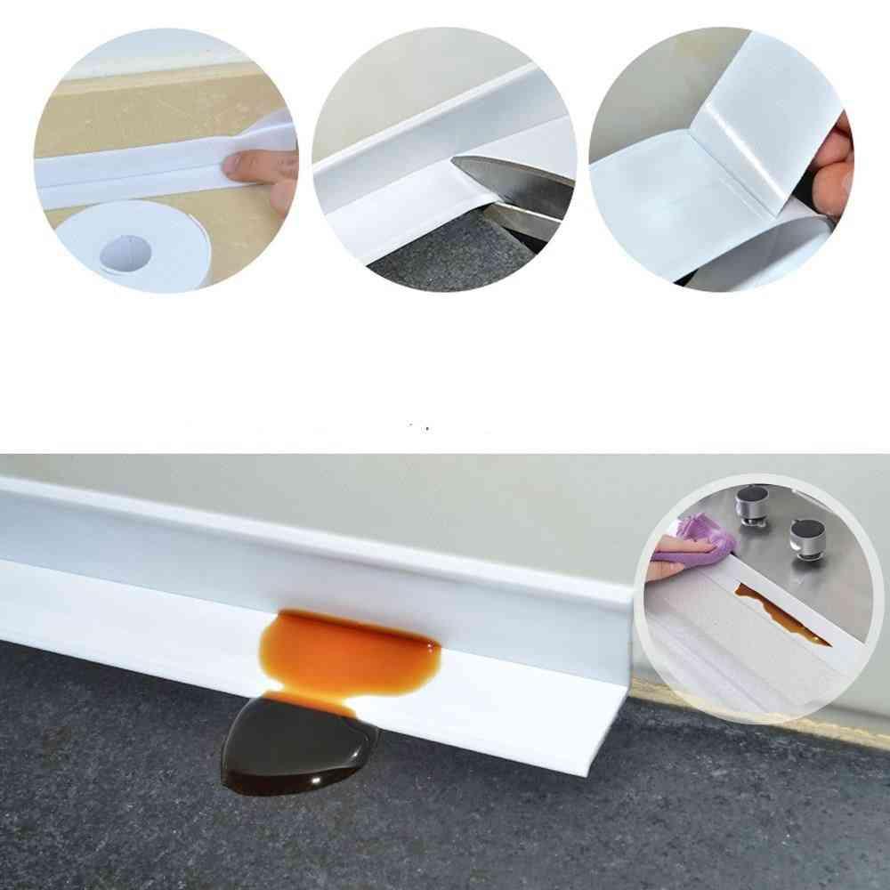 Pvc  Self Adhesive Waterproof - Bathroom Shower, Sink Bath Sealing Strip Tape