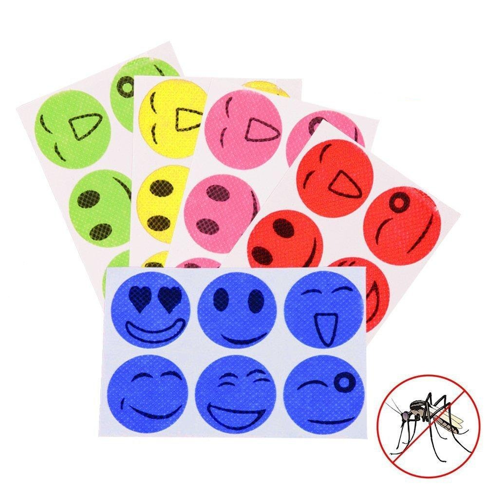 120pcs Mosquito Repellent Patches Stickers - 100% Natural Non Toxic Pure Essential Oil Mosquito Repellent Stickers