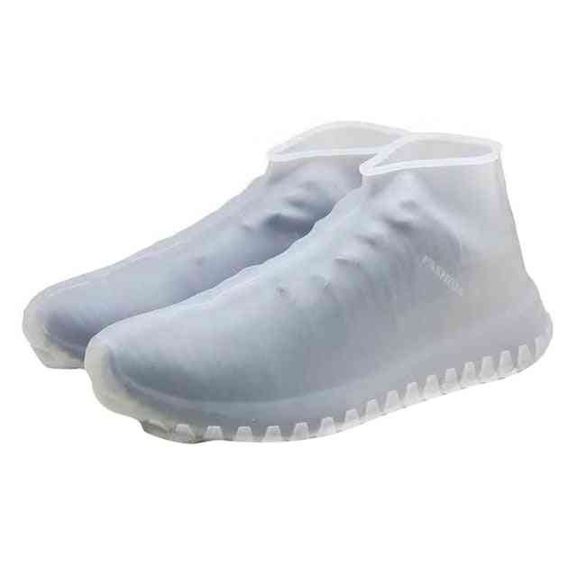 Reusable Silicone, Dustproof Rain Cover, Winter Step In Shoe Waterproof Shoe Covers