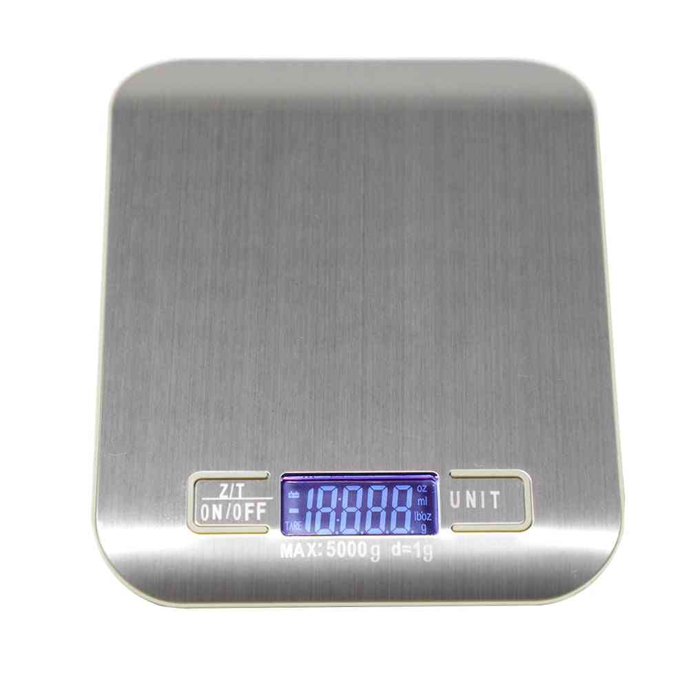 5/10kg Household Kitchen Scale - Electronic Food, Diet Scales Measuring Tool
