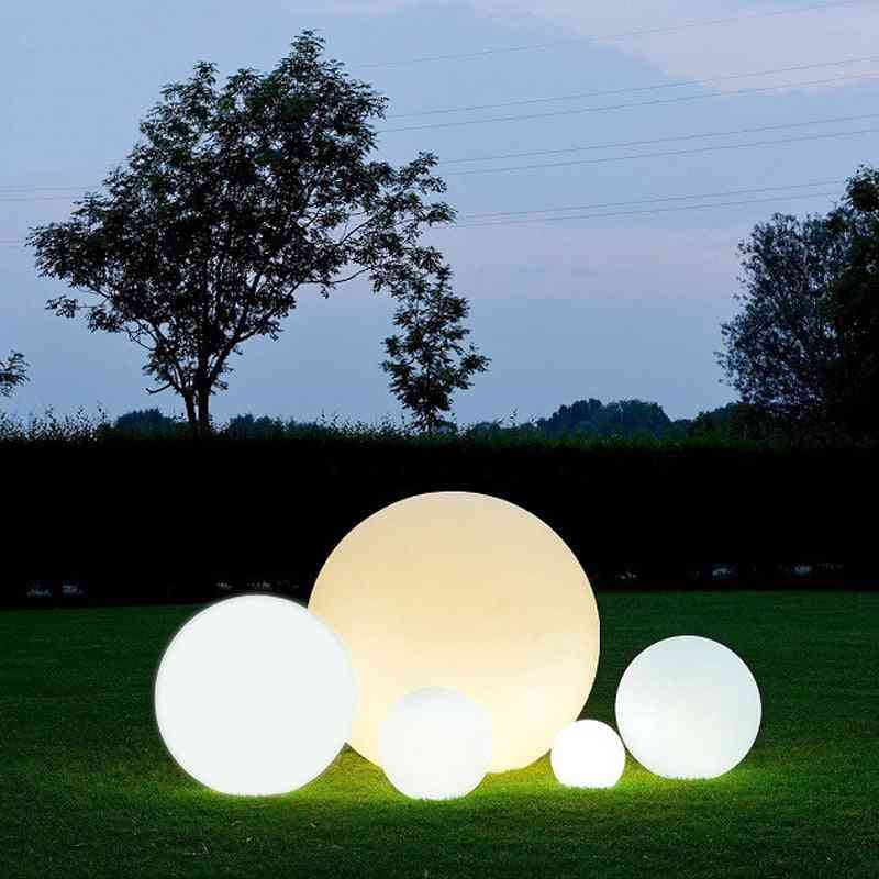 Waterproof Led Garden Ball Light - Rgb Underwater Light Ip68 Outdoor