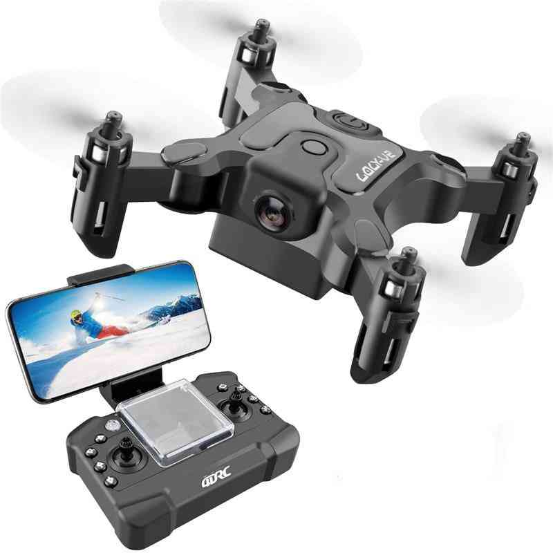 Mini Rtf Wifi With/without Hd Camera - Hight Hold Mode, Rc Quadcopter Drone