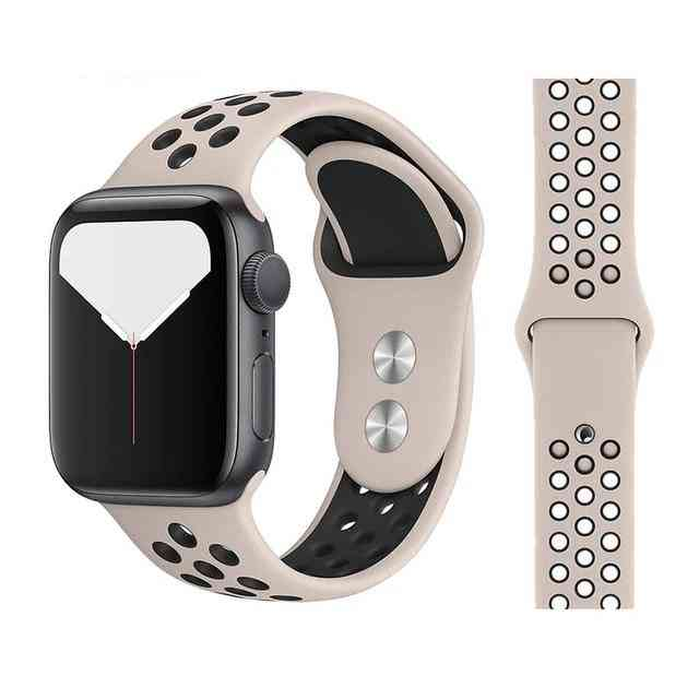 New Breathable Silicone Sports Band For Apple Watch Also For Iwatch