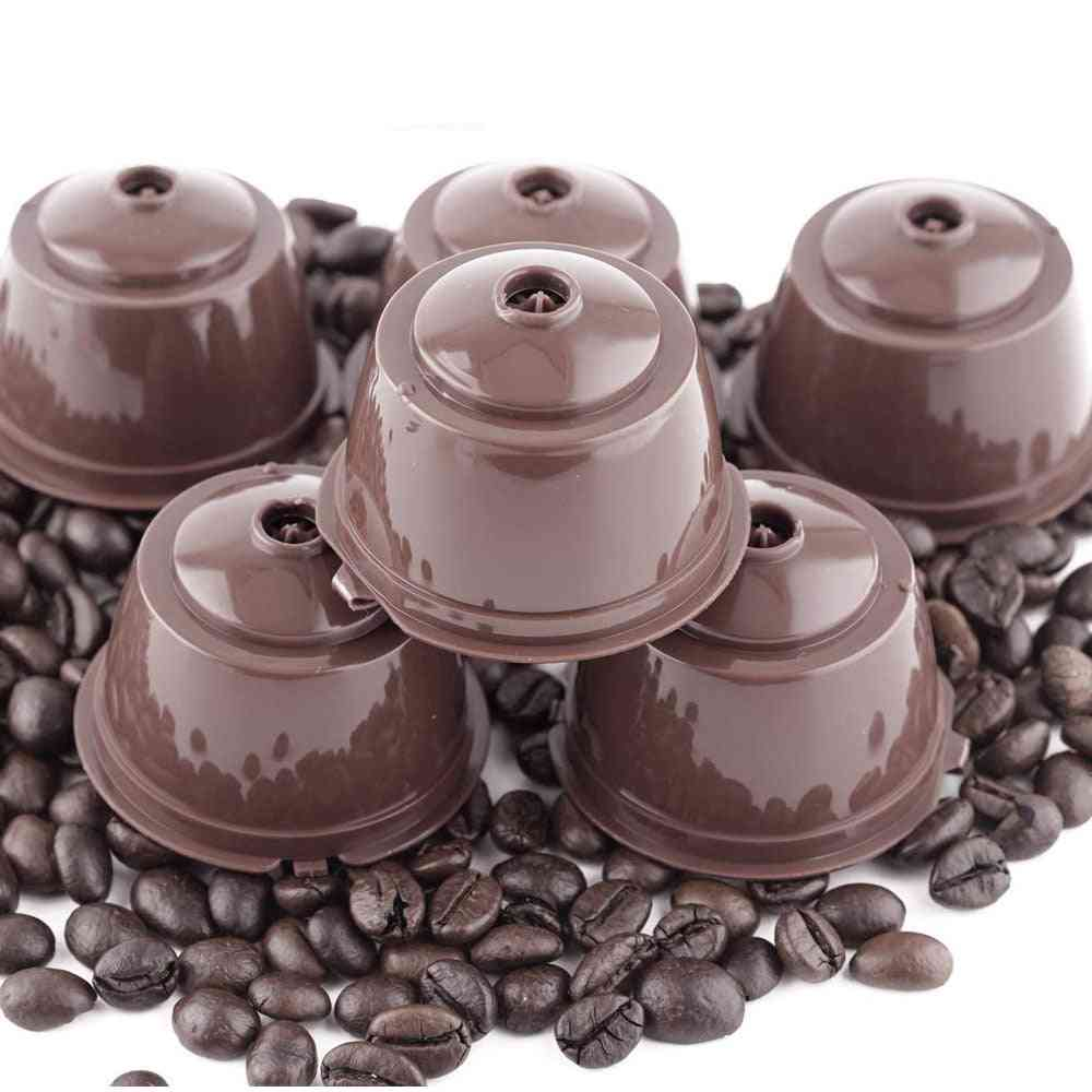 3 Pcs Reusable Coffee Capsule Filter Cup For Nescafe Dolce - Gusto Refillable Caps