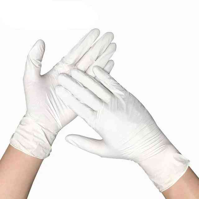 100pcs Universal Disposable Latex Gloves For Home Cleaning Nitrile/food/rubber/garden Gloves
