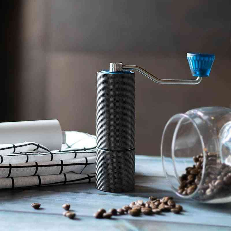 High-quality Manual Stainless Steel Burr Coffee Grinder - Time More Upgrade Chestnut