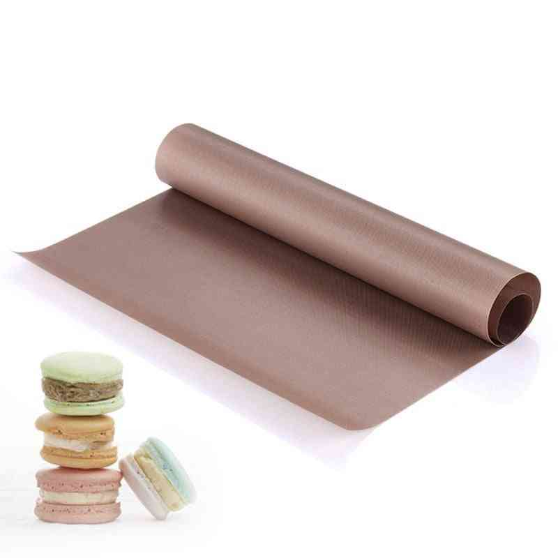 Reusable Baking Non Stick Mat With High Temperature Resistant For Pastry Baking Oilpaper