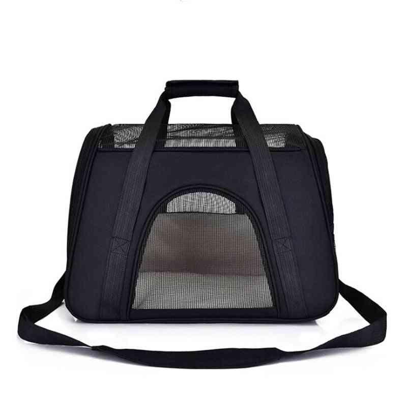 Pet Backpack Messenger Carrier Bags - Outgoing Travel Packets Breathable Pet Handbag