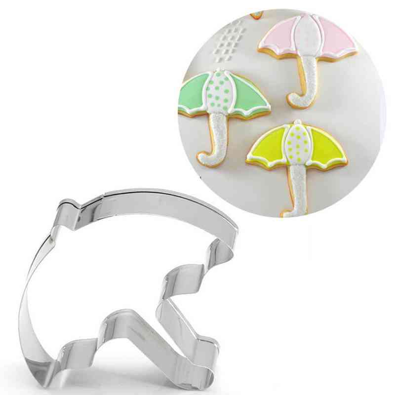 Creative Stainless Steel Cookie Cutter, Cake Biscuit Baking Mold Tool
