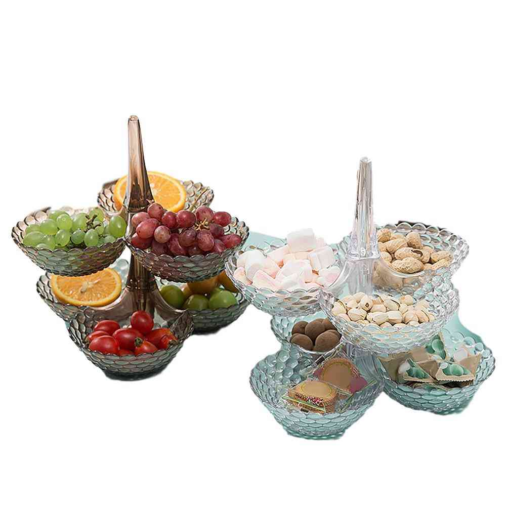 Creative Lazy Bowl For Candy, Snack  And Fruits