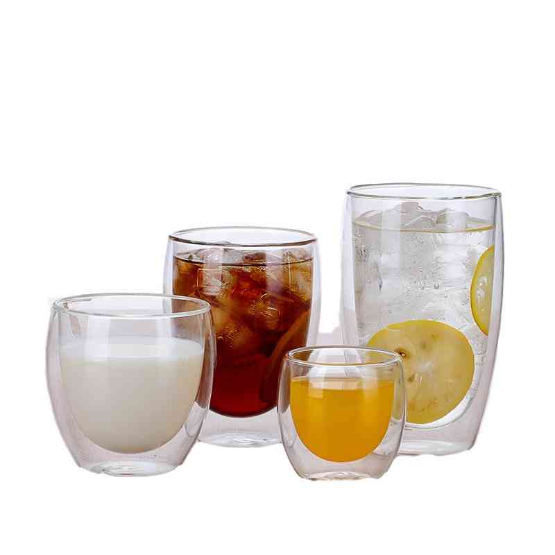 Water Bottle Coffee Heat Resistant Cup Set Used For Beer Mug, Tea, Whiskey Glass Cups
