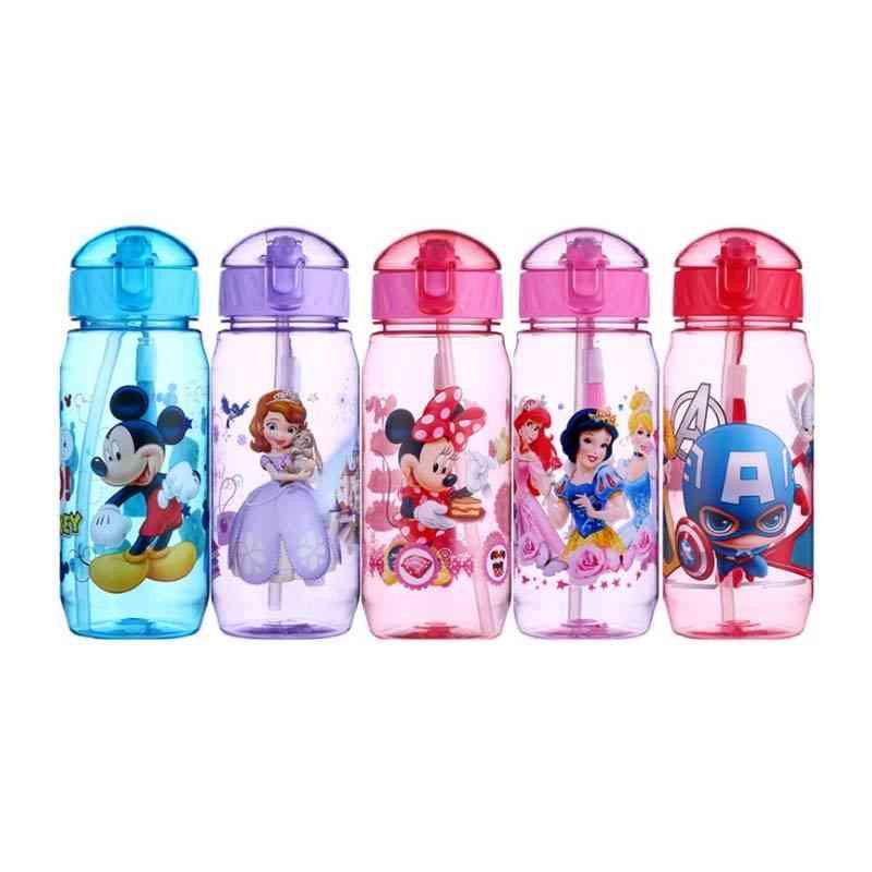 Eco Friendly Kids Drinking Cartoon Water Bottles