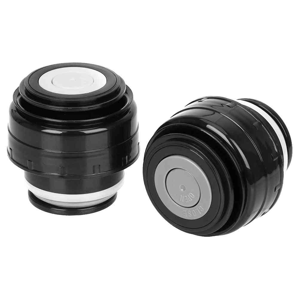 Bullet Flask Stainless Steel Vacuum Flask Thermos Cover Or Lid - Outdoor Travel Cup, Mug