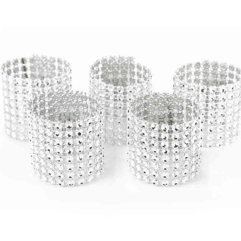 10pcs Napkin Ring Chairs Buckles, Wedding Event Decoration Crafts