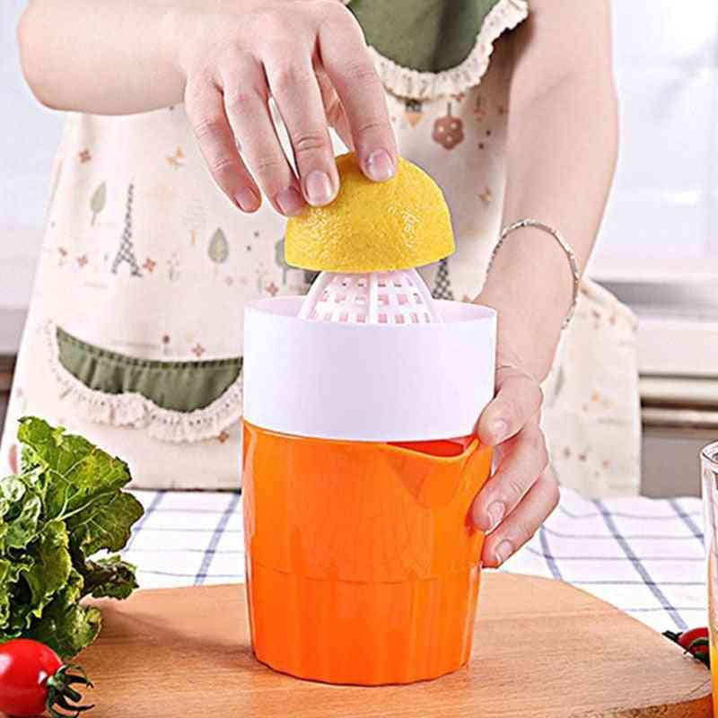 Mini Portable Manual Citrus Juicer Extractor - Fruit Squeezer