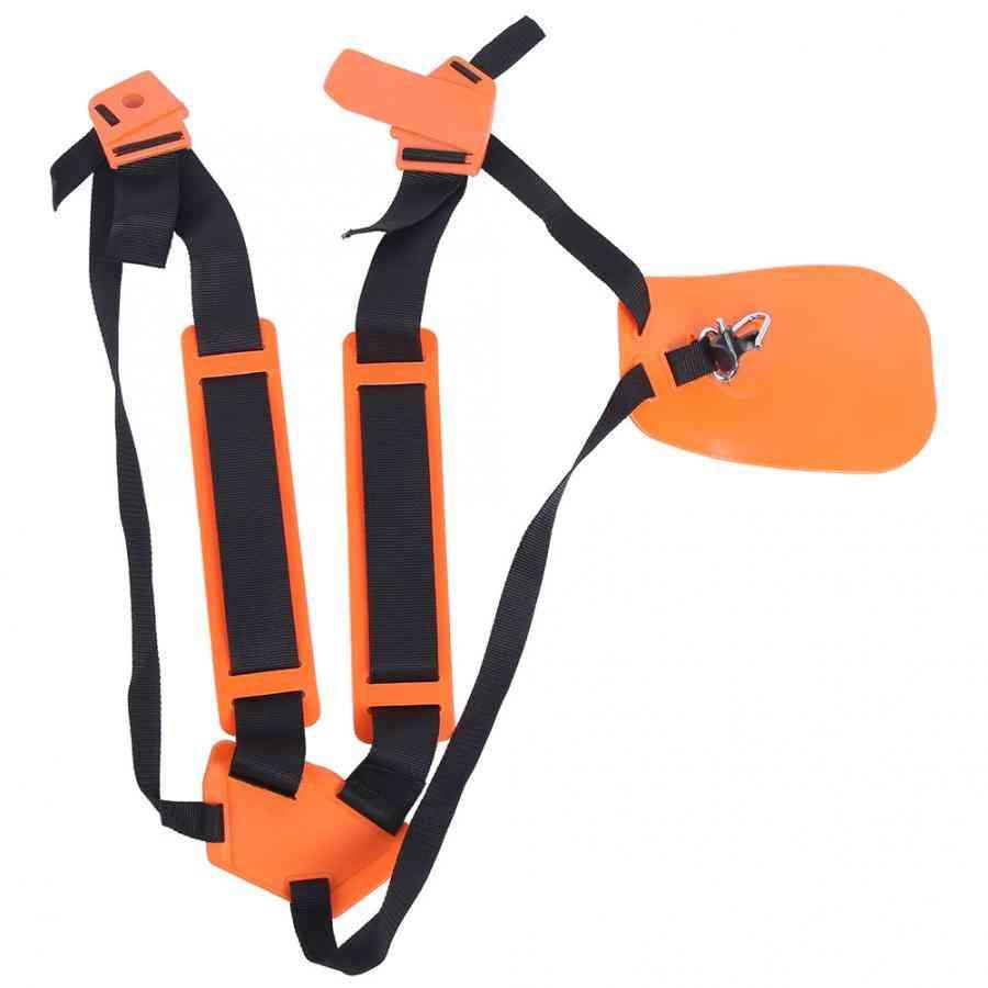 Strimmer Padded Belt- Adjustable Trimmer, Double Shoulder Strap