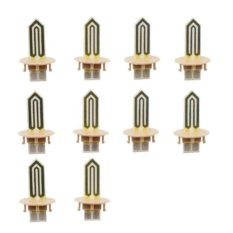 10pcs Replacement Ceramic Heater Blade For Iqos 2.4 Plus, E Cigarette