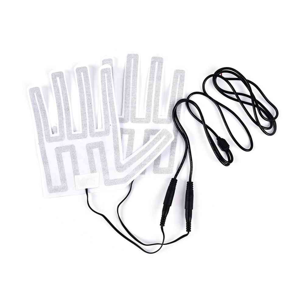 12v Winter  Thermal Warm Mittens -heater For Motorcycle Gloves