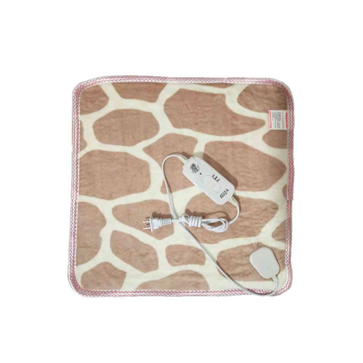 Electric Heated Pads Soft Flannel Winter Heating - Warming Blanket, Carpet