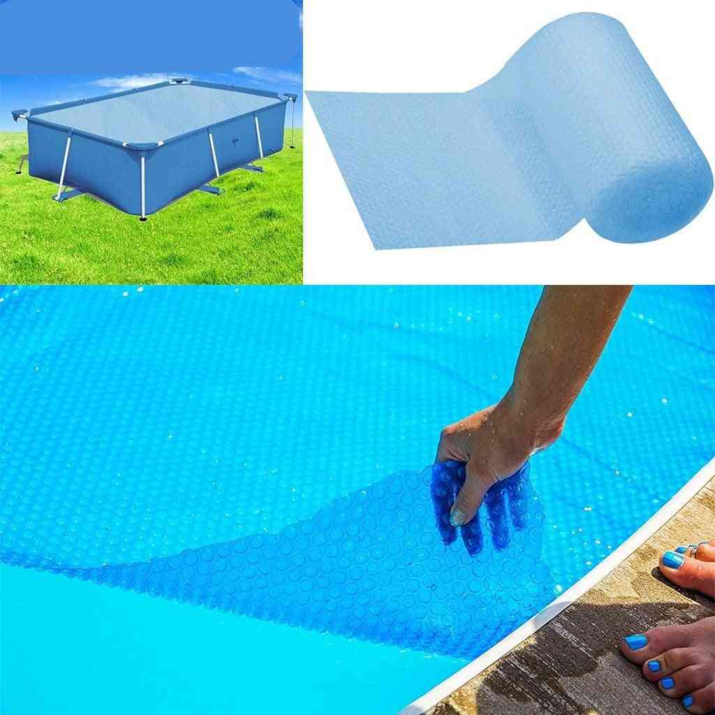 Bubble Film Swimming Pool Cover, Protector - Sky Blue
