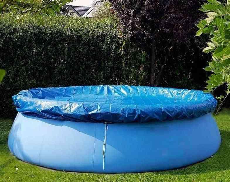 Durable Round Pool Umbrella, Swimming Pool Sun Shade Dust Cover