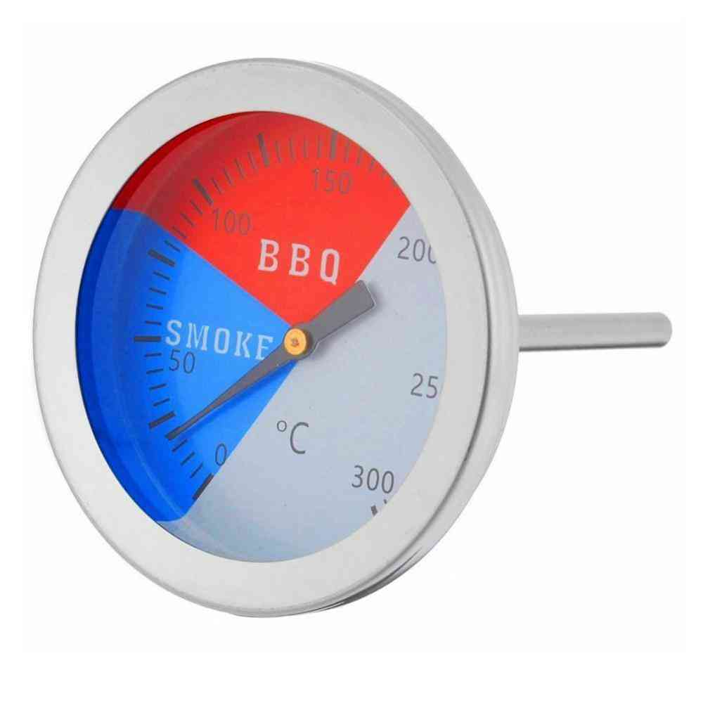 Thermometer For Bbq Smoke Grill Oven Temperature Gauge Outdoor Camp Tool