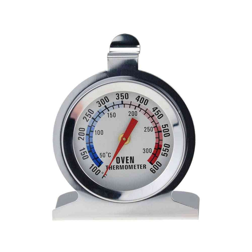 Oven Thermometer - Food Meat Temperature Stand Up Table Stainless Steel Gauge