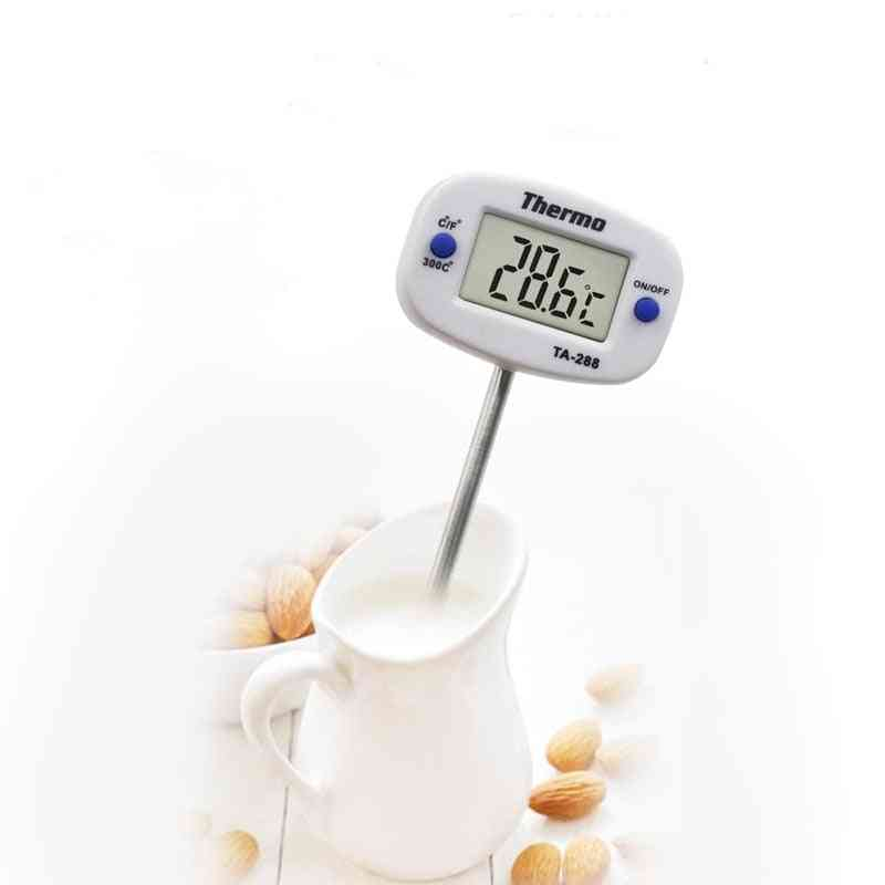 Digital Kitchen Thermometer For Bbq - Electronic Digital Food Probe
