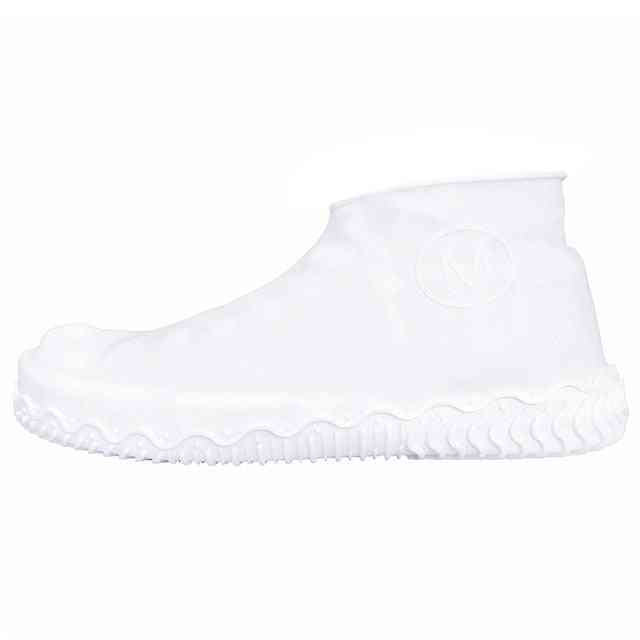 Reusable Silicone Shoe Cover-waterproof And  Slip Resistant Rubber Boot
