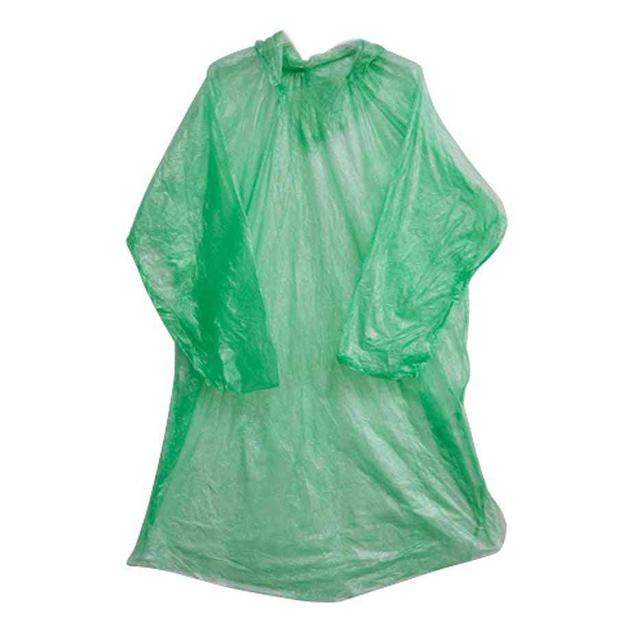 Disposable Emergency Rain Cover Jacket For Theme Parks