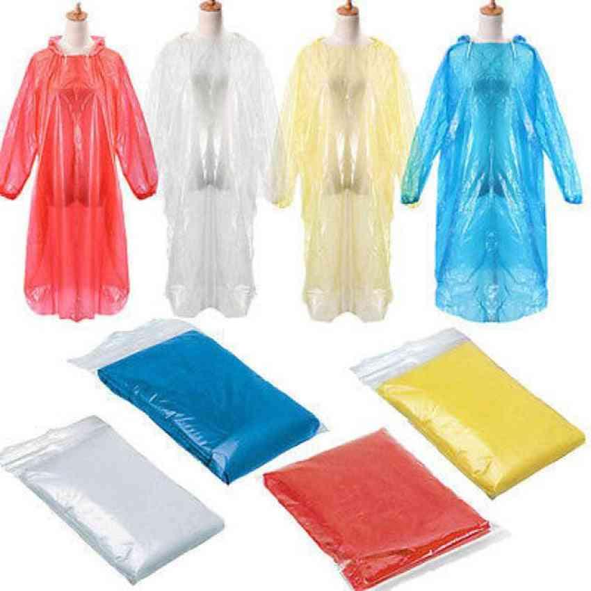 Disposable Raincoat Adult Emergency Waterproof Rain Coat