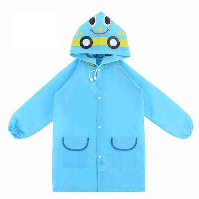 Cartoon Raincoat - Rain Gear Cute Baby, Good Playground
