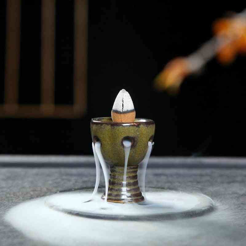 Creative Home Decor Mini Incense Censer Backflow  Burner
