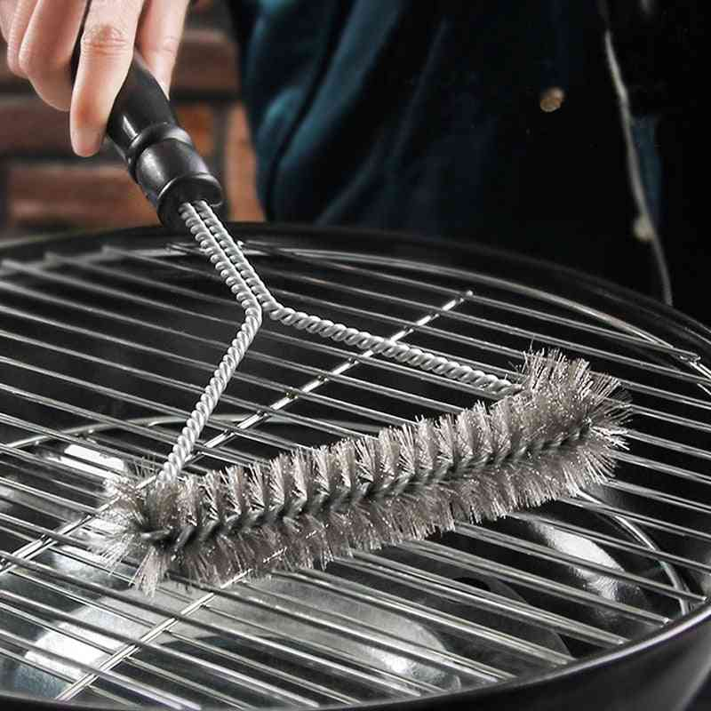 Stainless Steel Barbecue Cleaning Brush