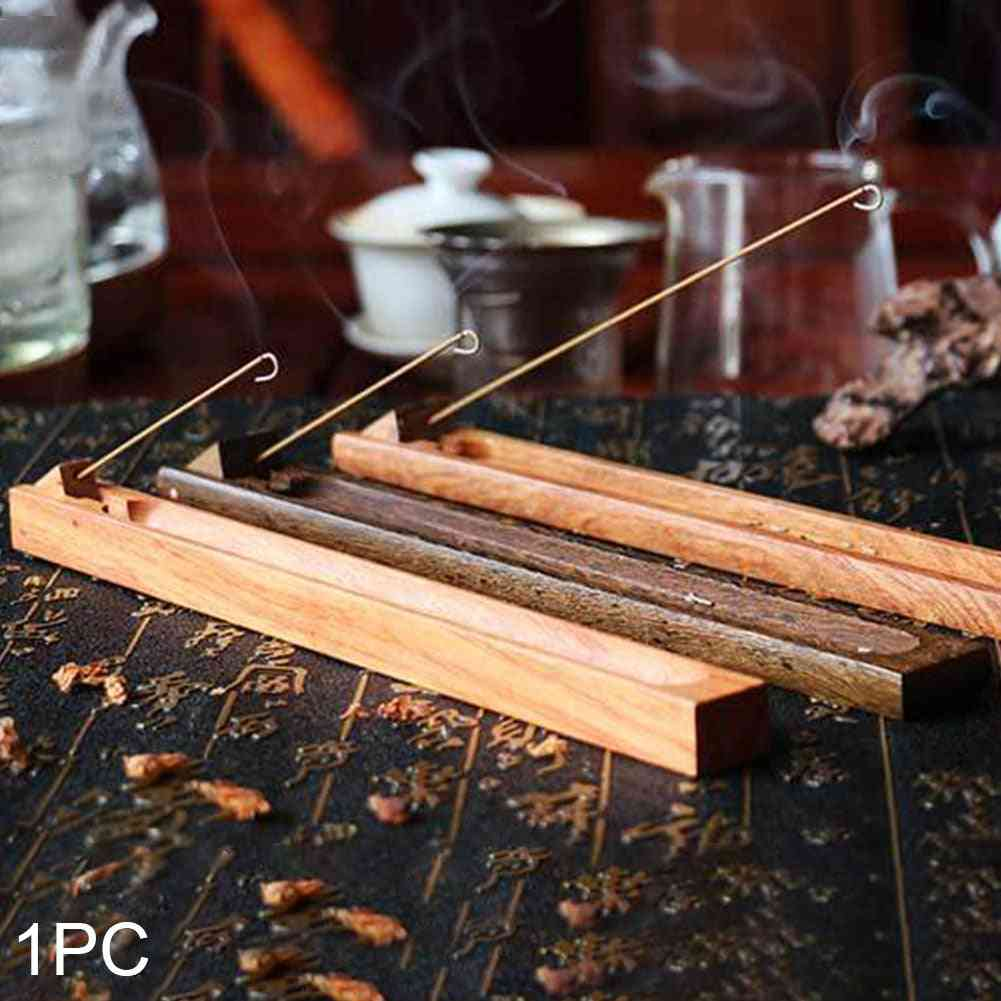 Aromatherapy Wooden Incense Burner Holder