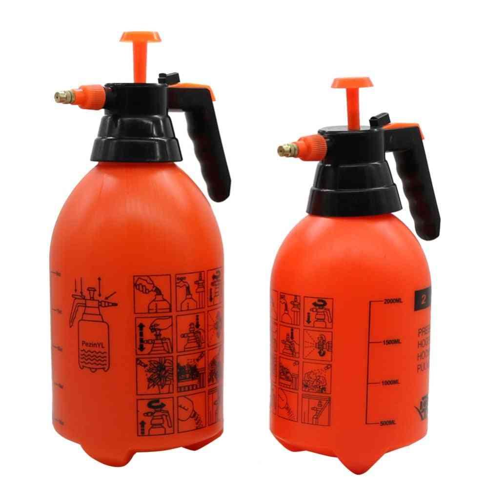 Hand Pressure Trigger Sprayer Bottle, Adjustable Copper Nozzle Head