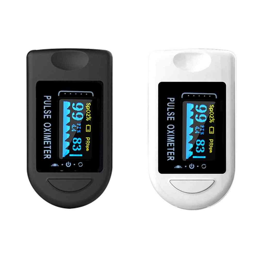 Portable Blood Oxygen Finger Pulse Digital Fingertip Saturation Meter