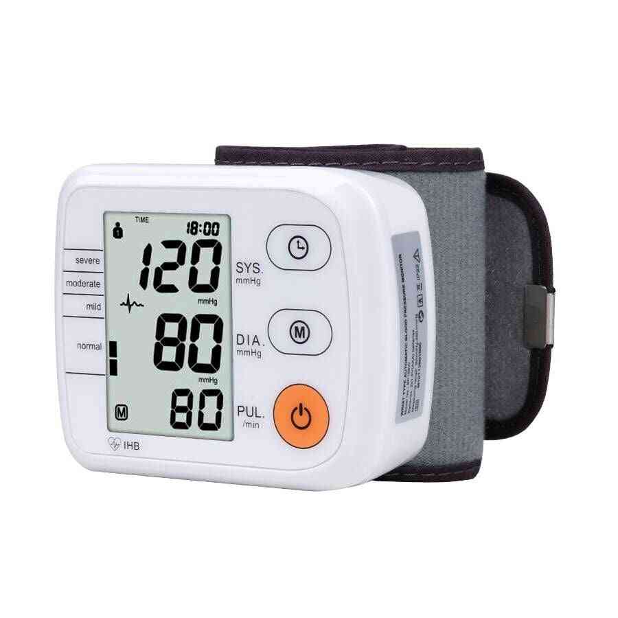 Wrist Blood Pressure Monitor Automatic Digital Tonometer-for Measuring Blood Pressure And Pulse Rate