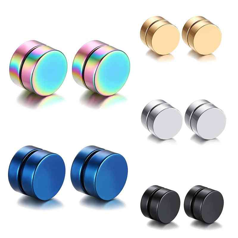 Lose Weight Health Slimming Magnets - Stimulating Acupoints Magnetic Stud Earrings