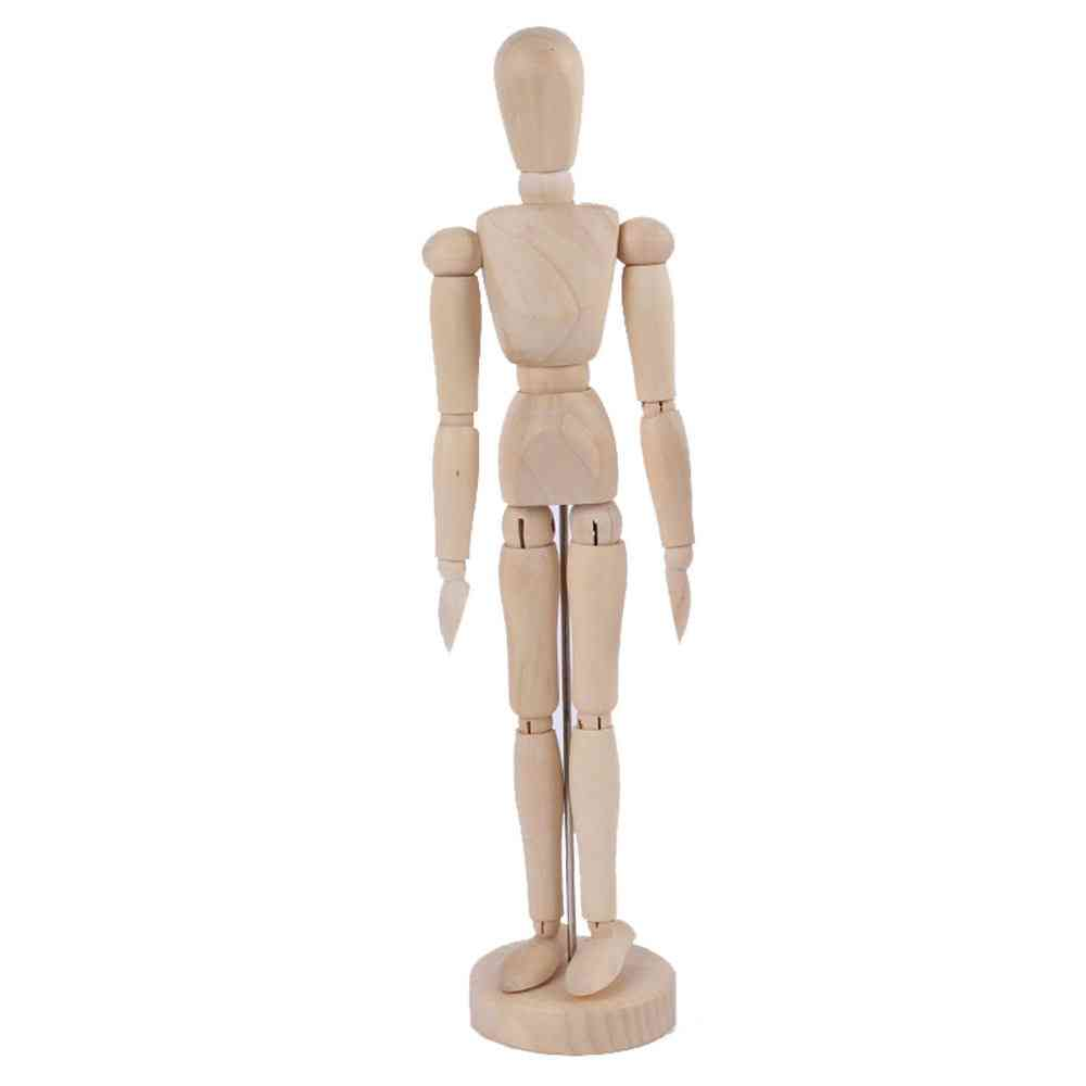 Wooden Mannequin Jointed Doll Model