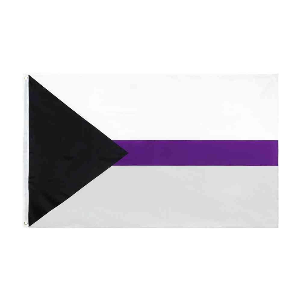 Lgbtqia Ace Community Demi Asexual Pride Flag 90x150cm